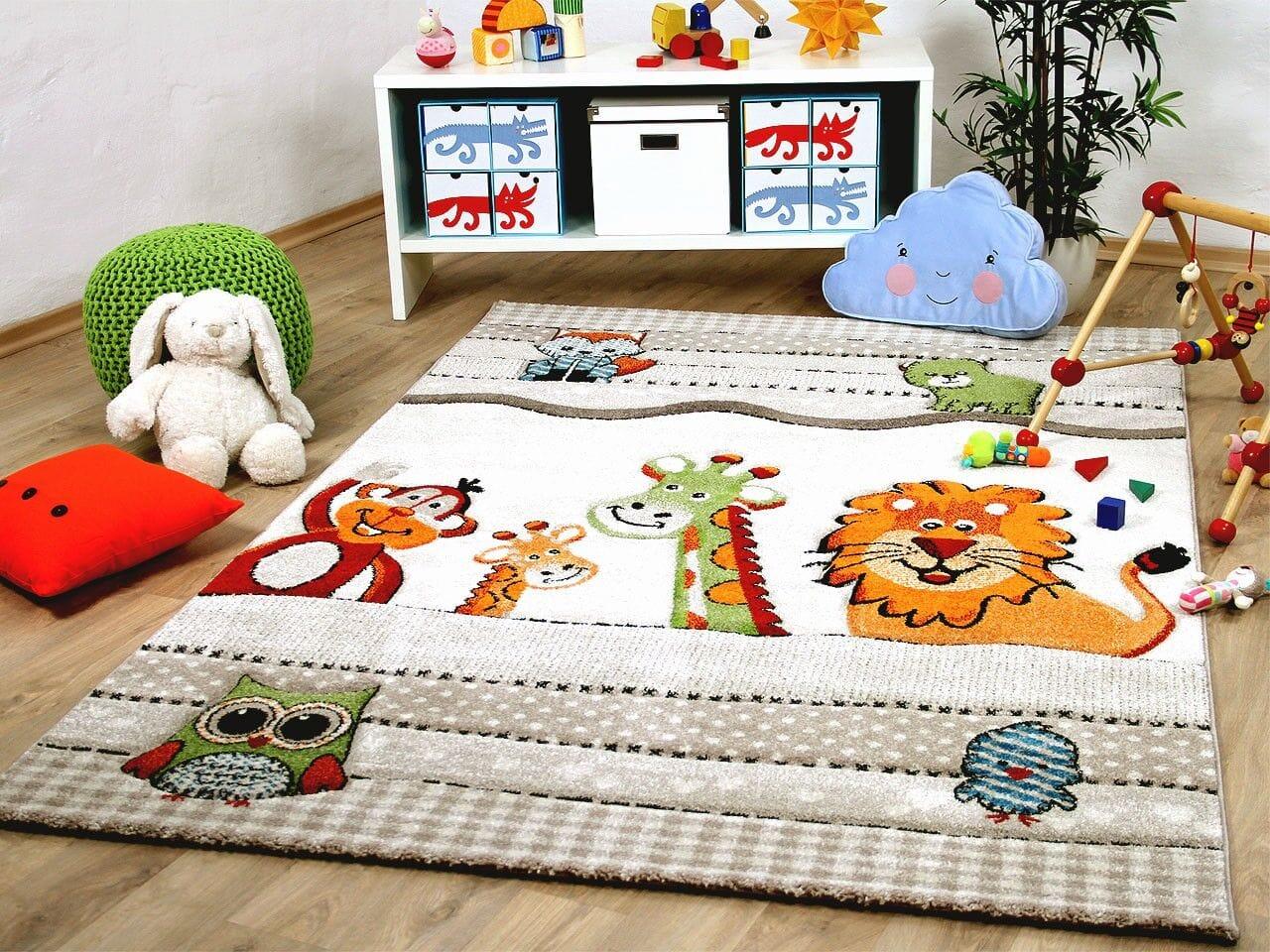 Детские ковры как важный предмет интерьера