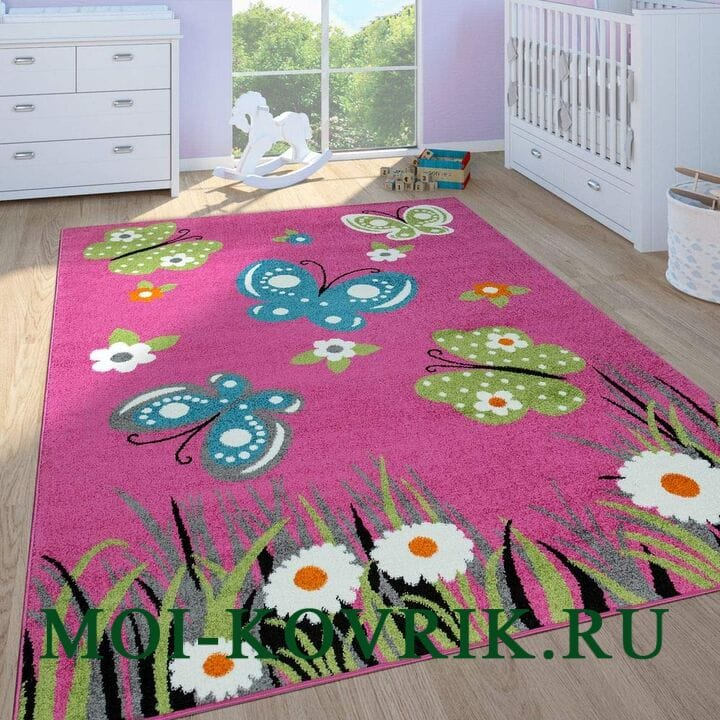 Ковер Paco Home Blumen In Pink