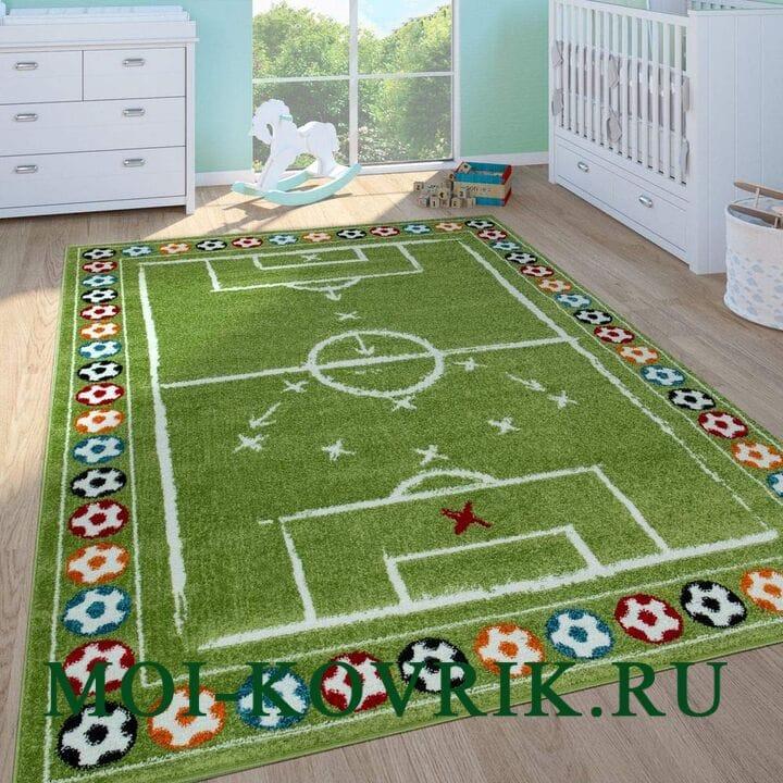 Ковер Paco Home Fußball In Grün