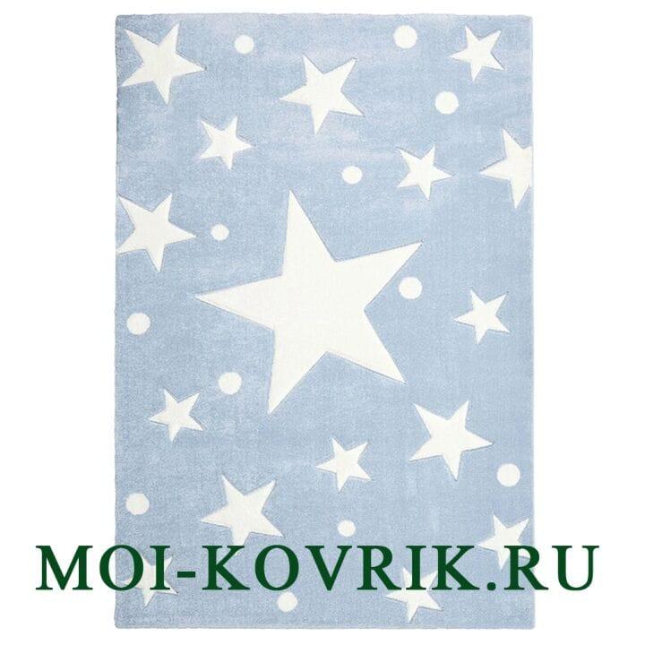 Ковер Livone Kids Stars Blue/White
