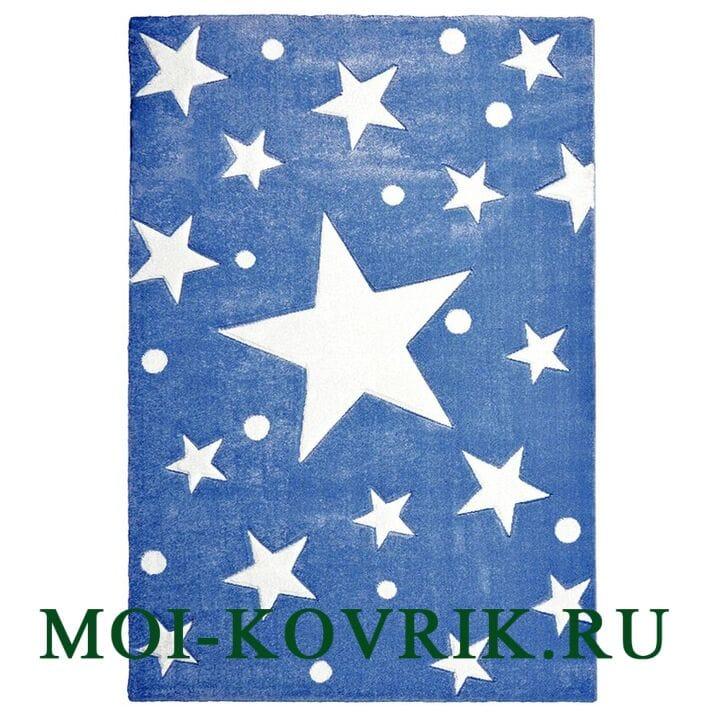 Ковер Livone Kids Stars  Navy Blue