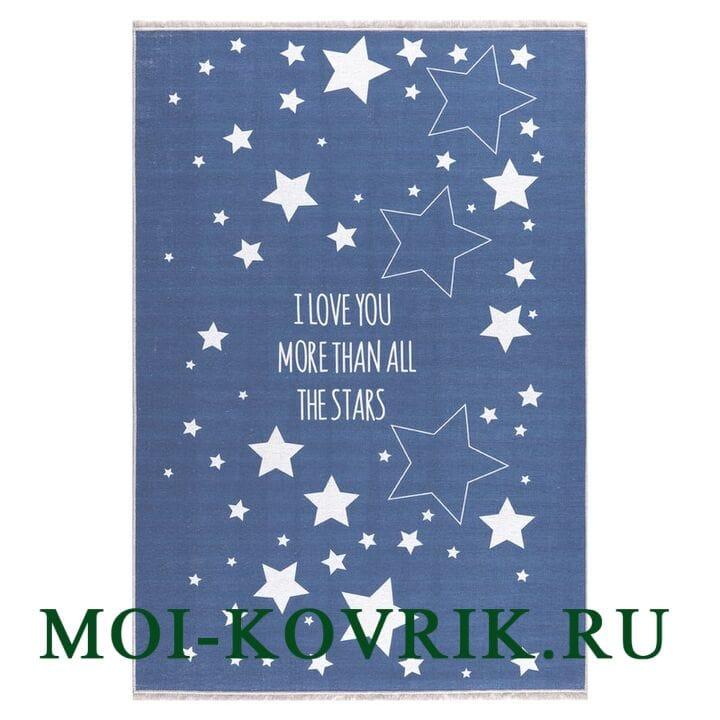 Ковер Livone Only Stars Blau