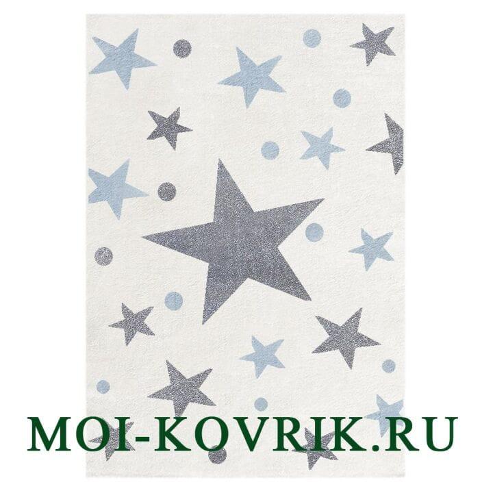 Ковер Livone Kids Stars Сreme/Gray